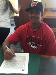 West Salem senior Simran Dhote has committed to play baseball at Western Oregon.
