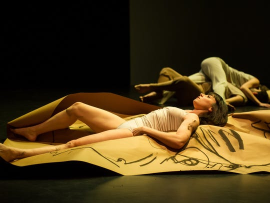 """Gwen Welliver's """"Beasts and Plots,"""" 2013, premiered"""