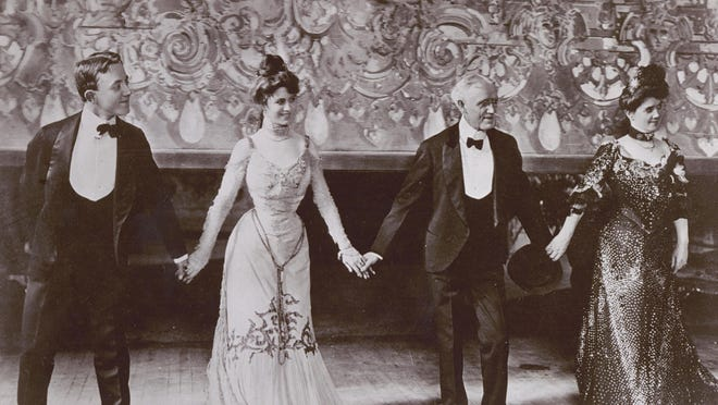 The Four Cohans featured George M. Cohan (from left), his sister, Josephine, and their parents Jerry and Nellie.