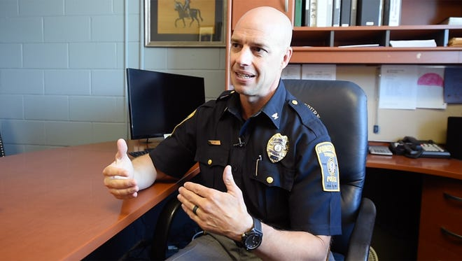 Chief Daniel Stump of the Springettsbury Township Police Department became chief at the department in March 2015. Stump declined to talk about lawsuits filed against the department before he became chief, but he acknowledged the department didn't always do things the best way it could. He said the department is working to improve, including working with outside agencies and focusing on its relationship with the community.