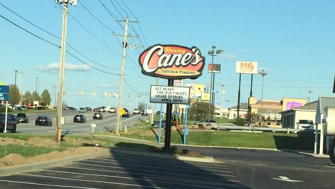 Raising Cane's.