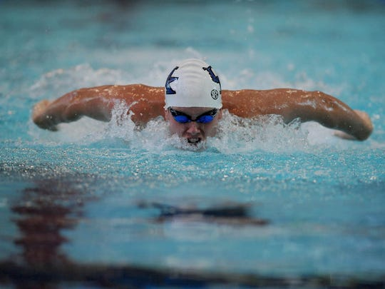 University of Kentucky swimmer Brandon Flynn, a Dallastown graduate, qualified for the U.S. Olympic Team Trials but will not compete.