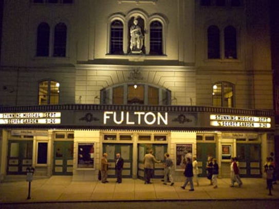 Lancaster's Fulton Theater, also known as the Fulton