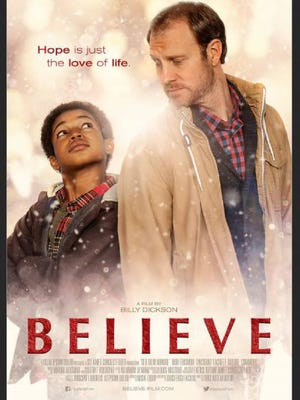 """The poster for """"Believe."""""""