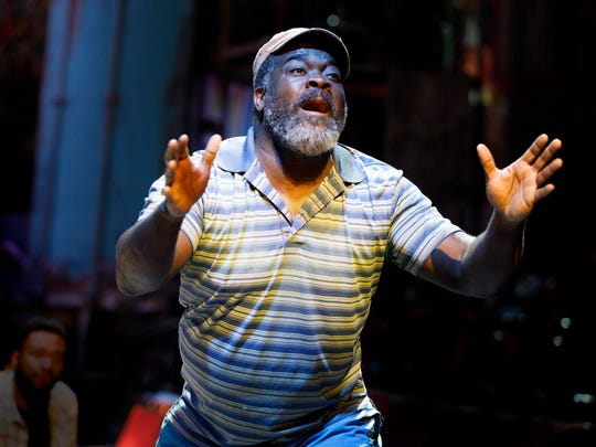 """Philip Boykin in a scene from """"Once on this Island."""""""