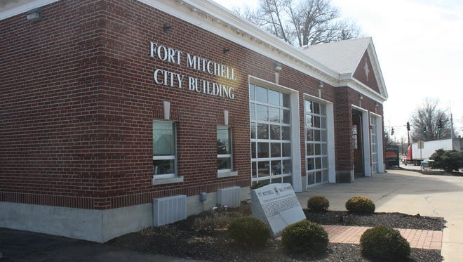 Traffic had been an issue at Highland Avenue next to the Fort Mitchell City Building.