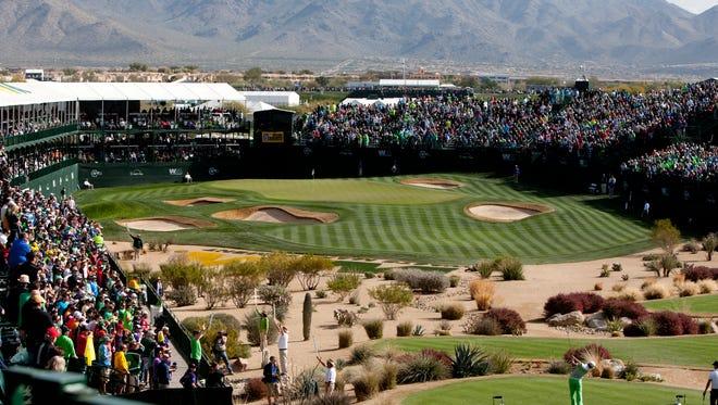 Waste Management Phoenix Open at TPC Scottsdale in 2014.