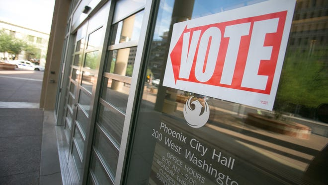 Voters in Arizona will pick their party's nominees for statewide and legislative offices.