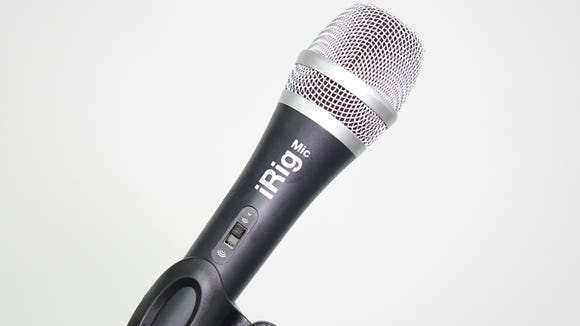 IK Multimedia iRig Mic, for IOS and Android smartphones