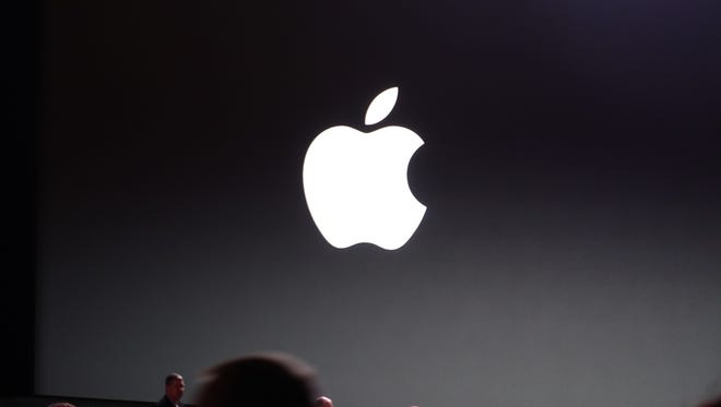 The stage is set for Apple's press event.