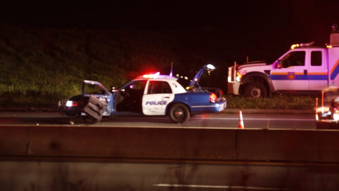 A Westchester County police officer suffered significant injuries after being struck by a vehicle on the Hutchinson Parkway by Mamaroneck Road on July 19, 2014