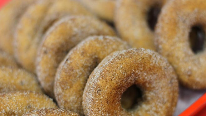 Apple cider donuts are back with the reopening of Jaswell's Farm in Smithfield but for takeout only. No one will be allowed inside the farmstand.