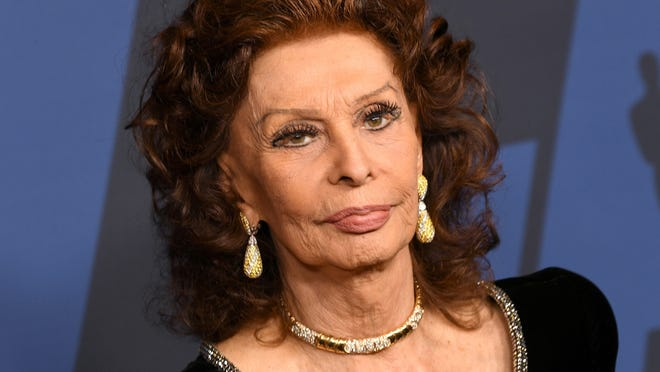 Sophia Loren attends the Academy Of Motion Picture Arts And Science' 11th Annual Governors Awards at in 2019 in Hollywood, California.