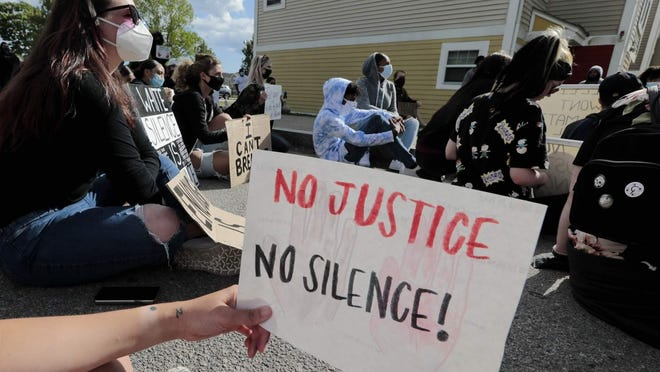 Protesters for much of the summer in New Bedford demonstrated against what they said is sytemic racism in police treatment of  Blacks, including what they contend locally are wrongful police actions in the 2012 shooting death of 15-year-old teenager Malcolm Gracia.