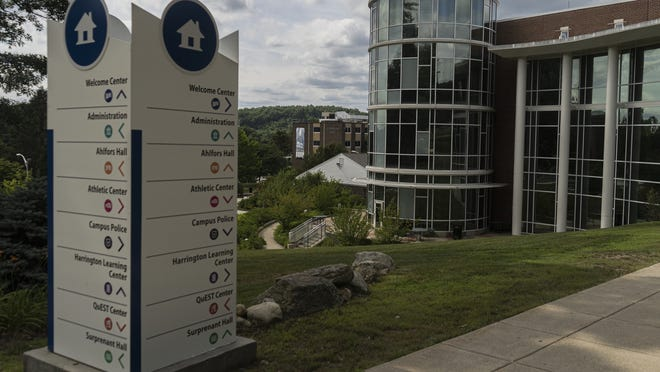 Quinsigamond Community College's campus will remain empty after administrators Friday decided that classes will remain remote for the remainder of the academic year due to the COVID-19 pandemic.