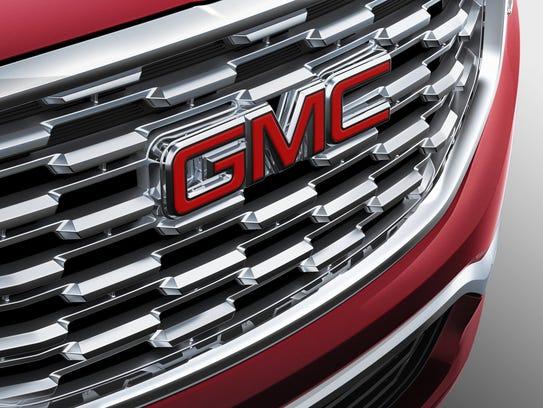 2018 All-New GMC Terrain Denali grille.