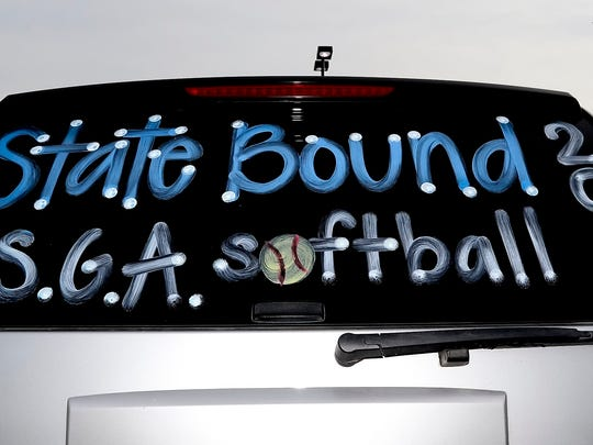 Santa Gertrudis Academy qualified for the state tournament for the second time in four years in 2016.