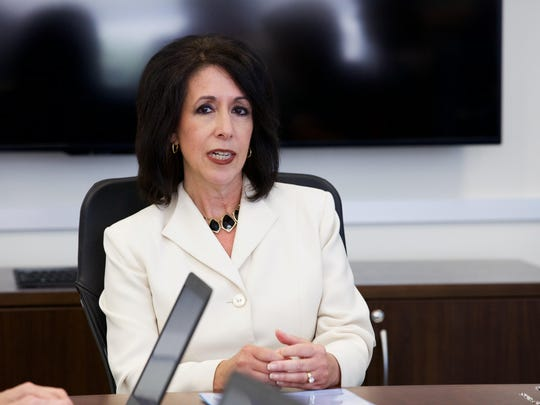 Monroe County Executive Cheryl Dinolfo met on Wednesday with the Democrat and Chronicle Editorial Board.