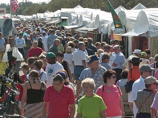 More than 125 artists will show their vast array of works from 10 a.m. to 5 p.m. Saturday and Sunday at The Hobe Sound Festival of the Arts.