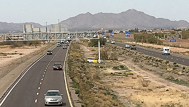 Interstate 10 will soon have three lanes in each direction from Casa Grande to Tucson.