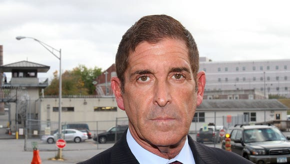 State Sen. Jeff Klein is photographed outside the Bedford