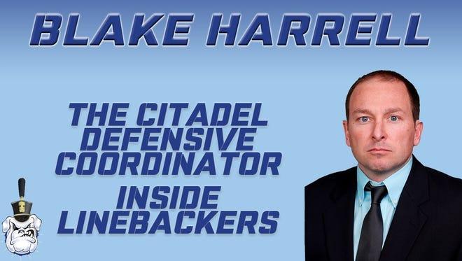 Franklin graduate Blake Harrell is the new defensive coordinator at The Citadel.