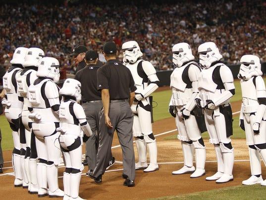 D-Backs host Star Wars Day