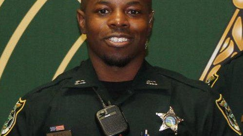 Flagler County sheriff's deputy Dedorius Varnes is out of jail on $25,000 bail after his arrest on a stalking charge Thursday, Aug. 27, 2020.