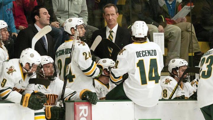 UVM ends hockey season with loss to UMass