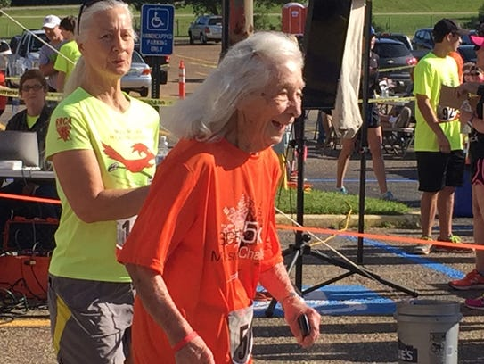 Thelma Pepper still participates in 5K races and fun