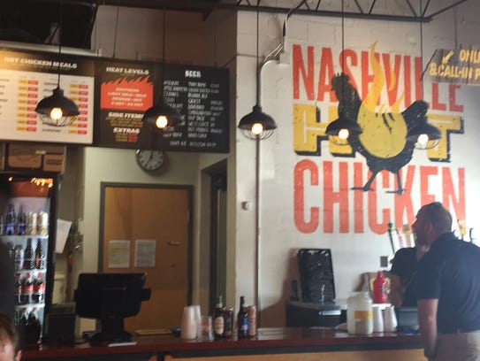 The inside of Pepperfire Chicken on Gallatin Avenue