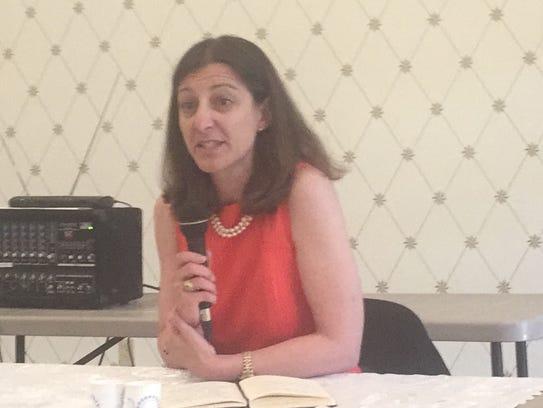 Elaine Luria, candidate for the Democratic nomination