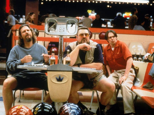 """Jeff Bridges, from left, John Goodman and Steve Buscemi are shown in """"The Big Lebowski."""""""