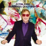 """On """"Wonderful Crazy Night,"""" Elton John's voice sounds fresh and his piano riffs are distinctive."""