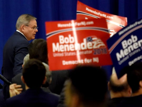 Sen. Robert Menendez officially launches his reelection