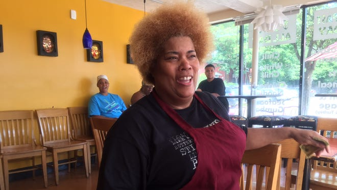 Sweet Peaches Cafe owner Pamela Haines