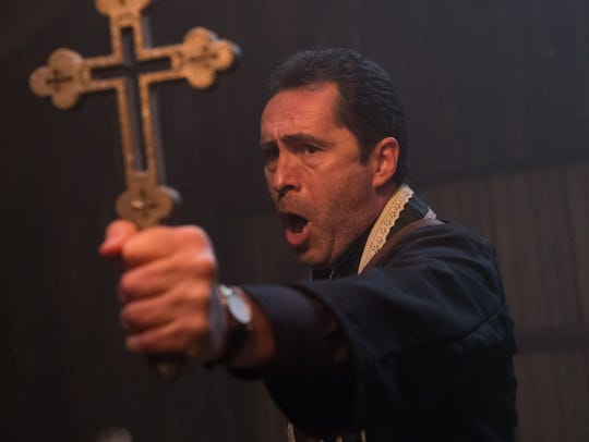"Demián Bichir stars in ""The Nun."""