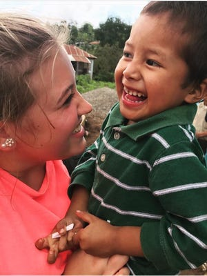 Amber Mann recently visited Guatemala for a mission trip.