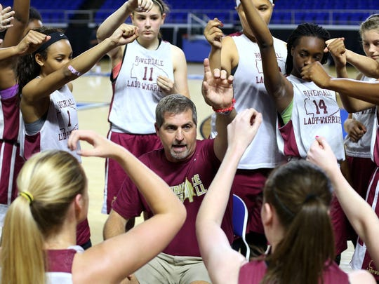 First-year coach Randy Coffman has led Riverdale back to the TSSAA Girls Basketball State Championships a year after the Lady Warriors were kicked out of the playoffs for trying to throw a District 7-AAA consolation game.