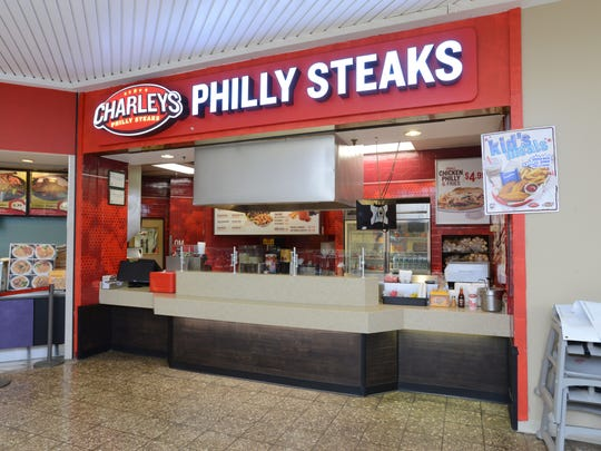 Charleys Phillly Steaks is in the Colony Square Mall food court.