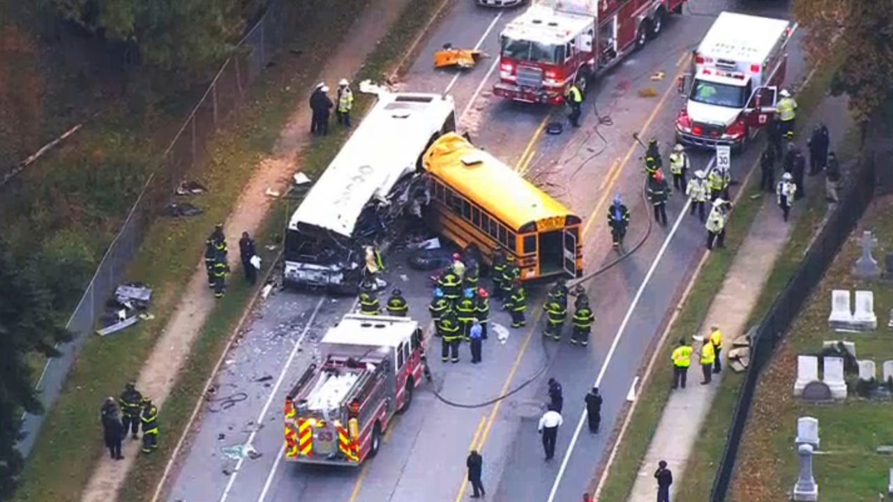 Deadly bus crashes in U.S. history
