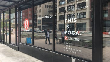 Downtown Detroit's Lululemon store to open Sept. 22