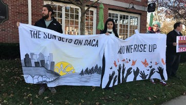 DACA supporters stage a Thanksgiving week hunger strike
