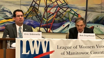 Manitowoc election: Bob Ziegelbauer questions donations to Eric Sitkiewitz's campaign