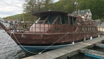 Pirate ship finds new home on Greenwood Lake's dining scene
