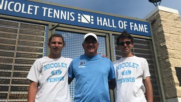 Sparked by their grandfather and taught by their father, Aranda tennis brothers live up to family name