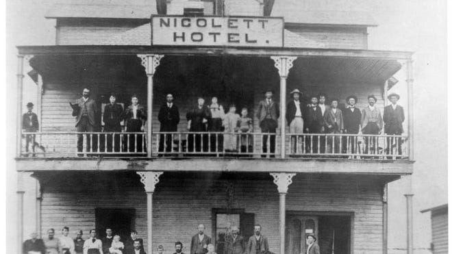 The Nicolett Hotel was one of the first structures in Lubbock, and served a variety of purposes through its years.
