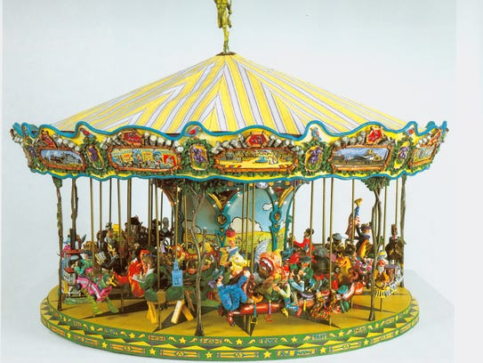 Red Grooms 39 Foxtrot Carousel Deserves Place In Tennessee