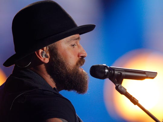 Zac Brown, of Zac Brown Band, performs at the CMT Music