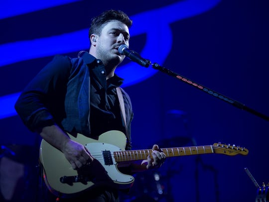 Marcus Mumford will perform with Mumford & Sons March 25 at Bankers Life Fieldhouse.
